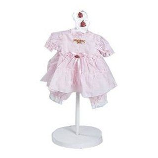 "Adora Little Sweetheart Outfit Pink Dress for 20"" Vinyl Toddler Baby Girl Doll Toys & Games"