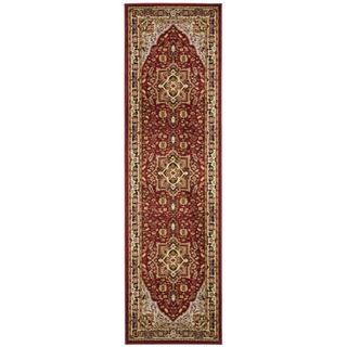 Safavieh Lyndhurst Collection Red/ Black Rug (2'3 x 22') Safavieh Runner Rugs