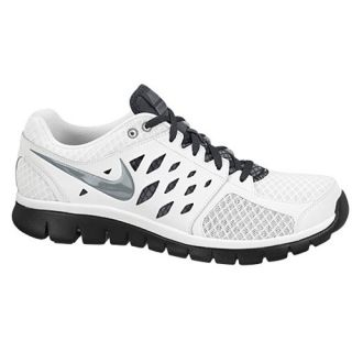 Nike Flex Run 2013   Mens   Running   Shoes   White/Cool Grey/Anthracite/Black