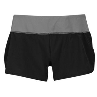 Under Armour Heatgear 3 Stretch Woven Shorts   Womens   Running   Clothing   Black/Black/Reflective