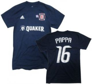 Marco Pappa Chicago Fire MLS Jersey Name & Number T Shirt Clothing