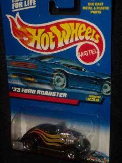 #2000 234 1933 Ford Roadster Pr 5 2000 card Collectible Collector Car Mattel Hot Wheels 164 Scale Toys & Games