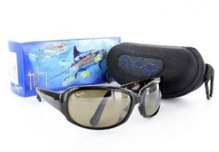 Maui Jim   Yellowfin Rootbeer/HCL Bronze Sunglasses in Nylon (MJ H234 26) Clothing