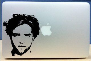 Twilight   Edward Silhouette 2   Vinyl Macbook / Laptop Decal Sticker Graphic Computers & Accessories