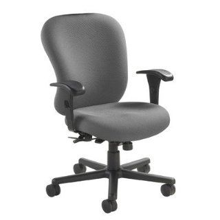 Nightingale Chairs 247hd 24/7 Heavy Duty Task Chair Fabric Foundation charcoal