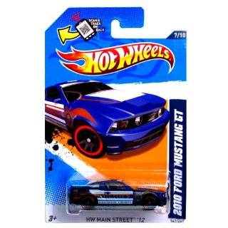 "Hot Wheels 2012 167/247 2010 FORD MUSTANG GT blue police car ""Kootenai County"" Toys & Games"
