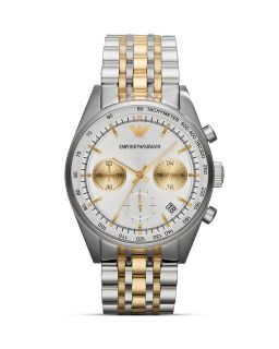 Emporio Armani Tazio Stainless Steel Watch, 43mm's