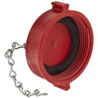 "Moon 664 252 Plastic Fire Hose Fitting, Cap, 2 1/2"" NH Cap"