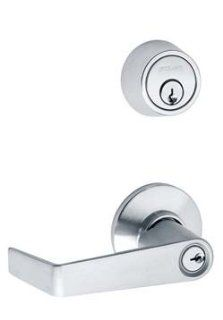 Schlage S251PD SAT Entrance Double Locking Interconnected Lock (With Cylinder)