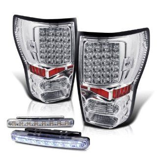 Rxmotoring 2007 Toyota Tundra Led Tail Light + 8 Led Bumper Fog Automotive