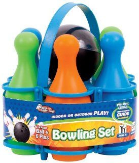 Brer Rabbit Toys Carry All Bowling Set  Bowling Equipment Sets  Sports & Outdoors