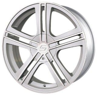 "Sacchi S62 262 Hypersilver Wheel with Machined Face (16x7"") Automotive"