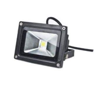 LENBO Dimmable 10W LED Floodlight Yellow Color Waterproof 110V AC flood light AC85V 265V Black Case LW1