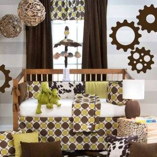 Urban Cowboy 4 Piece Baby Crib Bedding Set with Bumper by Sweet Potato Baby