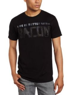 David & Goliath Men's Bacon Life, Black, X Large at  Men�s Clothing store