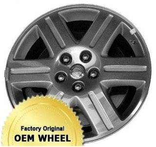 CHRYSLER 300 18X7.5 6 SPOKE Factory Oem Wheel Rim  MACHINED FACE SILVER   Remanufactured Automotive