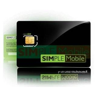 Simple Mobile Micro SIM Card Activation Kit for Apple iPad / iPhone 4G and 4S Cell Phones & Accessories