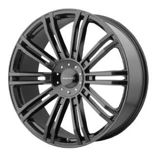 20x8.5 KMC D2 (Gloss Black) Wheels/Rims 6x135/139.7 (KM67728566335) Automotive