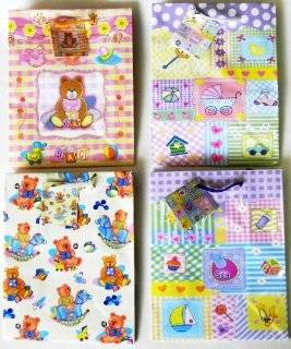 USA Wholesaler  25810442 Baby Shower Gift Bag  Medium Case Pack 288 Sports & Outdoors
