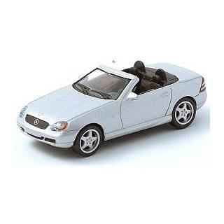 164 Scale Mercedes Benz SLK AMG Roadster Silver Diecast Car Model Toys & Games