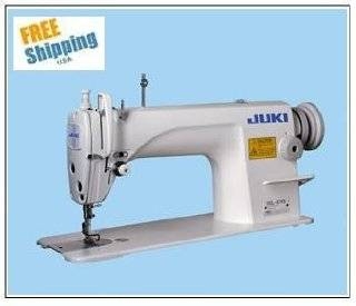 Juki DDL 8700 High speed Single Needle Straight Lockstitch Industrial Sewing Machine with Table and Motor