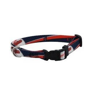 Cleveland Indians Pet Dog Collar (Small) Sports & Outdoors