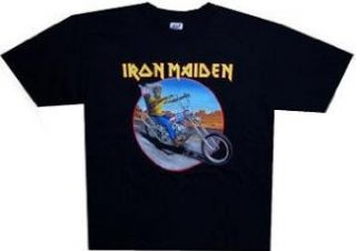 IRON MAIDEN   Biker 08 World Tour   Black T shirt   size Small Clothing