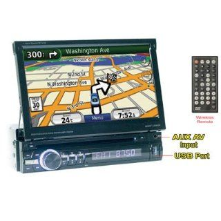 "Performance Teknique Icbm gtv 7"" One DIN Digital TFT Touch Screen, Dvd/cd//mp4 Player, Am/fm MPX Radio, Built in GPS (Usa, Canada & Mexico), USB Port, Sd Card Interface, Aux, Car Steering Control, Dual Zone, Cc Led, Tv Tuner (For Mexico), Fully"