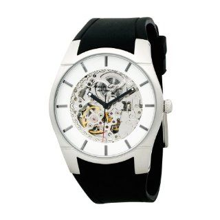 Kenneth Cole New York Men's KC1608 Automatic Black Rubber Strap Watch kenneth cole Watches