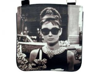 Audrey Hepburn Breakfast at Tiffany's Sling Messenger Cross Body Bag Purse Shoes