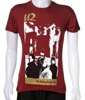 U2   The Unforgettable Fire Tour Shirt, Small Clothing