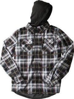 Fly Racing Tactile Jacket , Distinct Name Black/Gray Plaid, Primary Color Black, Size 2XL, Gender Mens/Unisex 354 60702X Automotive