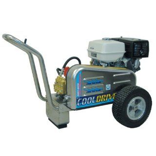 EconoMax DB354 Gas Cold Water Belt Drive Pressure Washer, 3500 PSI, 4.0 GPM, 13 HP GX, Stainless Steel Frame
