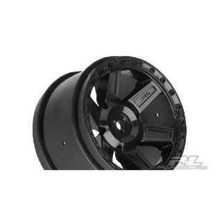 Pro Line Racing 273003 Desperado 2.8 Rear Wheels, Black (2) Toys & Games