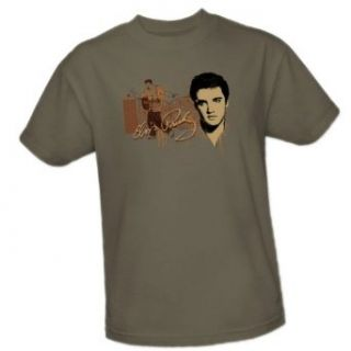At The Gates    Elvis Presley Adult T Shirt Clothing