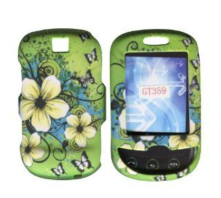 Hawaiien Flowers Samsung Smiley T359 T Mobile Case Cover Hard Phone Cover Case Faceplates Cell Phones & Accessories