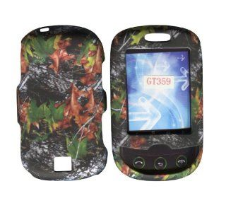 Camo Leaves Samsung Smiley T359 T Mobile Case Cover Hard Phone Cover Case Faceplates Cell Phones & Accessories