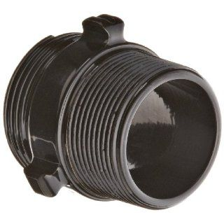 "Moon 378 1561524 Aluminum Fire Hose Adapter, Rocker Lug, 1 1/2"" NH x 1 1/2"" NPT Double RL Male"