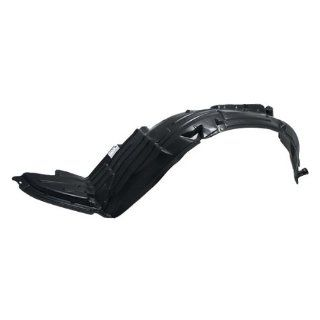 CarPartsDepot, Plastic Front Fender Liner Splash Shield Left (Driver Side) 2.5L 4 Cyl 3.5 V6 Assembly, 378 36304 11 NI1250113 638438J000?? Automotive