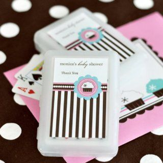 100PC EB2033CK Personalized Playing Cards Cupcake Party Wedding Baby Shower Favo Health & Personal Care