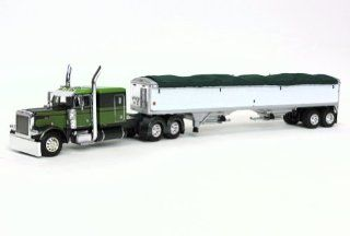 1/64th Peterbilt 379 Clint Moore Truck w/ Grain Trailer by DCP Toys & Games