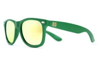Society43 NCAA Sunglasses   Notre Dame Fighting Irish Green Wayfarer Style Shoes