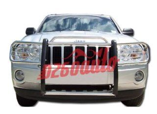 2005 2006 2007 2008 2009 2010 JEEP GRAND CHEROKEE Stainless Steel SS Modular Grille Guard Brush Nudge Push Bar Automotive
