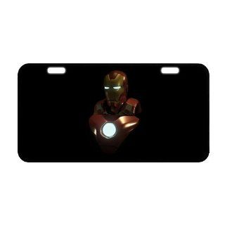 Iron Man License Plate Frame LP 387 Sports & Outdoors