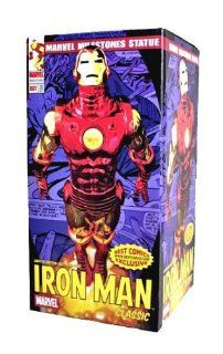 Online Exclusive Marvel Milestones Iron Man (Classic) Electroplated Chrome Variant Statue Toys & Games