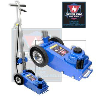 Neiko 22 Ton Heavy Duty Portable Air Hydraulic Jack with Wheels