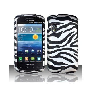 Black White Zebra Hard Cover Case for Samsung Galaxy S Stratosphere SCH i405 Cell Phones & Accessories