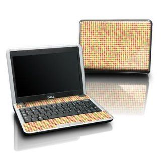Dots Autumn Design Protective Skin Decal Sticker for DELL Mini 12 Laptop Netbook Computer Computers & Accessories