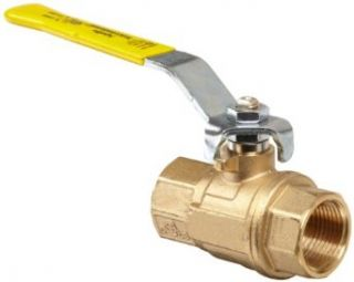 Apollo 64 100 Series Brass Ball Valve, Two Piece, Inline, Lever, NPT Female