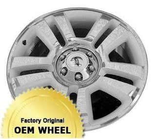 FORD F150 22X9 5 SPLIT SPOKES Factory Oem Wheel Rim  POLISHED FACE SILVER   Remanufactured Automotive